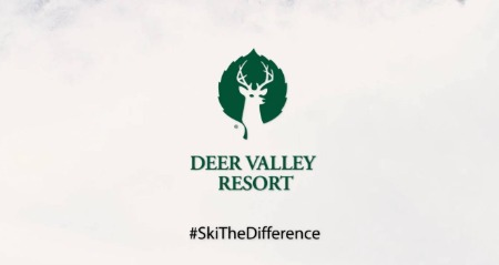 Deer Valley Resort #SkiTheDifference logo