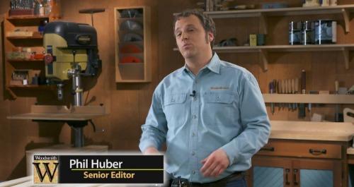 Phil Huber talking.